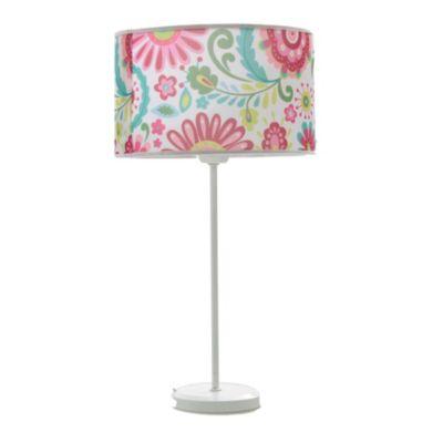 Lámpara de Mesa Una Luz Flores E27