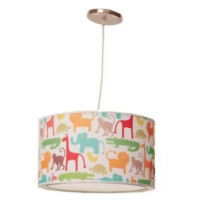 Lámpara de techo colgante Una Luz Jungla E27