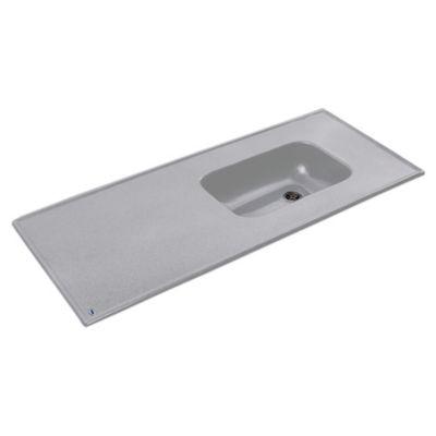 Mesada 140 x 53 cm gris