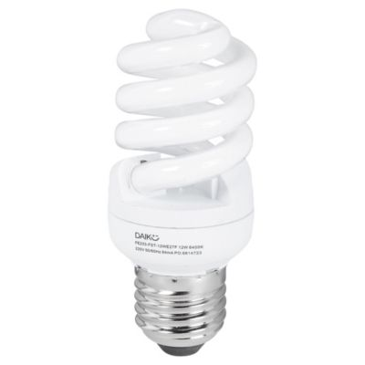 Lámpara helicoidal 12 w fría e27 t2