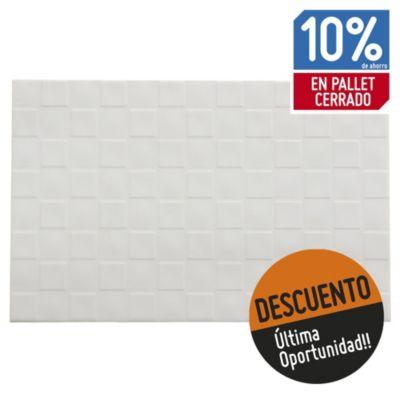 Revestimiento cerámico 33 x 51 muro blanco 2 m2