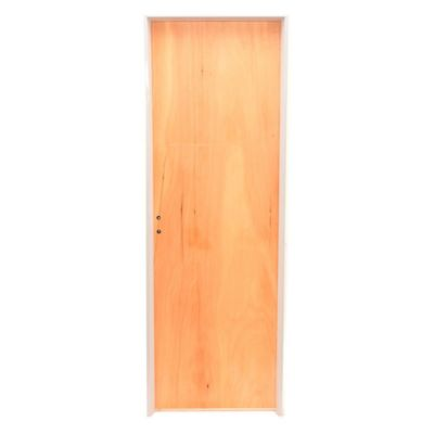 Puerta de interior cedro 70 x 200 x 10 cm izqui...