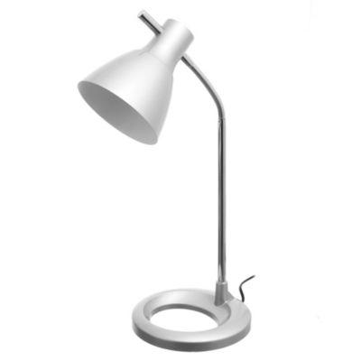 Lámpara de mesa una luz gris