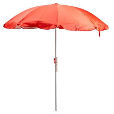 Sombrilla con protección upf 1,8 m roja