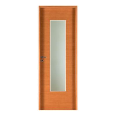 Puerta placa cedro 80 x 200 x 10 cm derecha