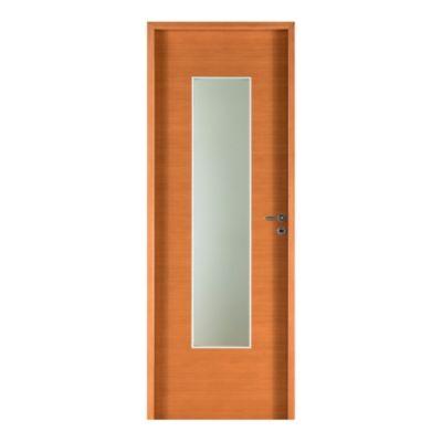 Puerta placa cedro 80 x 200 x 10 cm izquierda