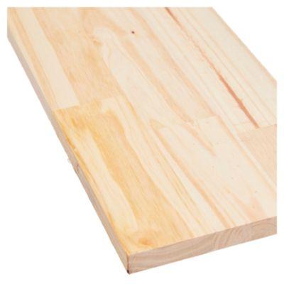 Tabla de madera de pino 1 x 8 x 2.44 mts