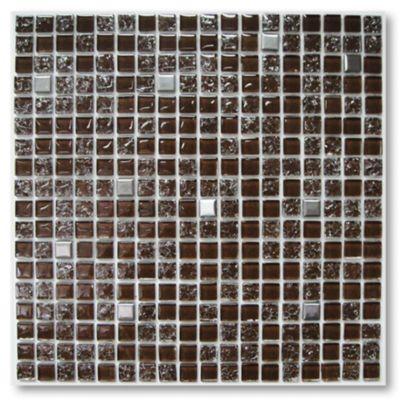 Malla mosaico crac chocolate