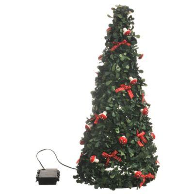 Árbol piramide LED 50 cm sin baterías