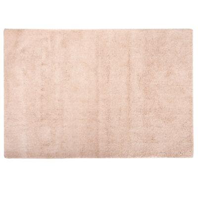 Alfombra angora 100 x 150 cm beige
