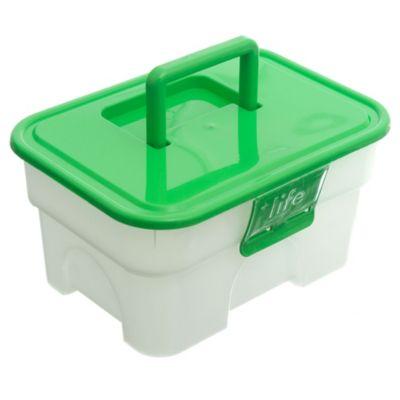 Organizador handy box 15 l transparente