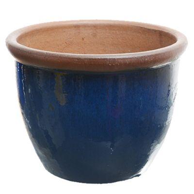 Maceta azul brilla 42 x 32 large
