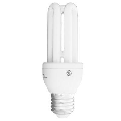 Lámpara bajo consumo tubo 11 w cálida