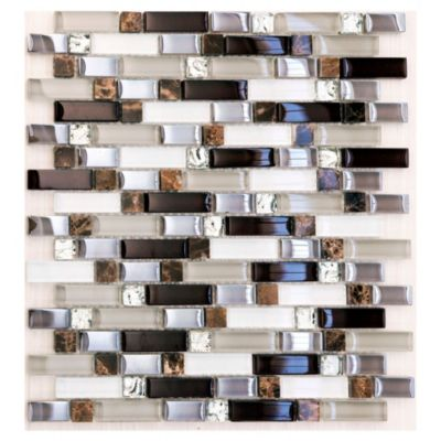 Malla mosaico 26 x 29,5 cm dubai strips