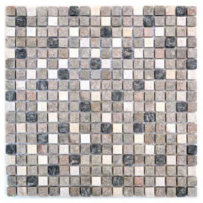 Malla mosaico 30 x 30 cm paine mix