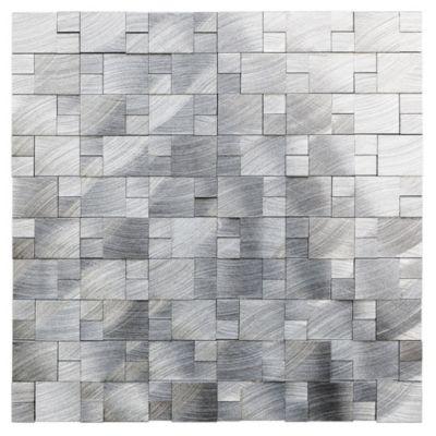 Panel skara aluminio natural