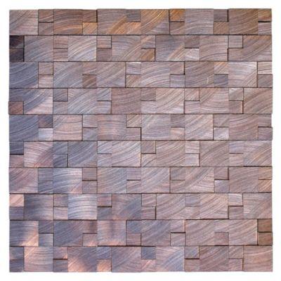 Mosaico skara aluminio bronce