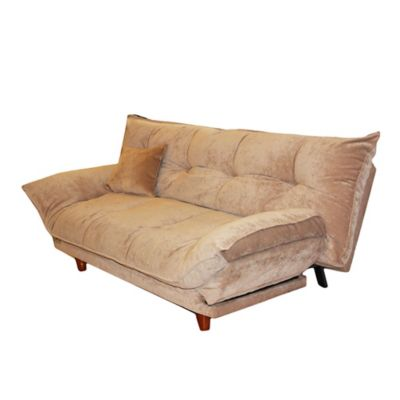 Futón Pillow 193 x 127 x 85 cm almendra