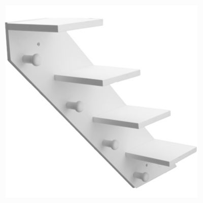Estante escalera blanco 71 x 17 x 56 cm