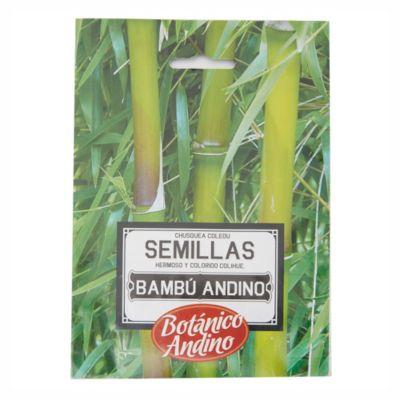 Semillas flores bambú