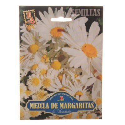 Semillas flores mezcla margaritas
