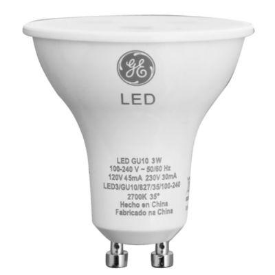 Lámpara LED GU10 Cálido 5 w