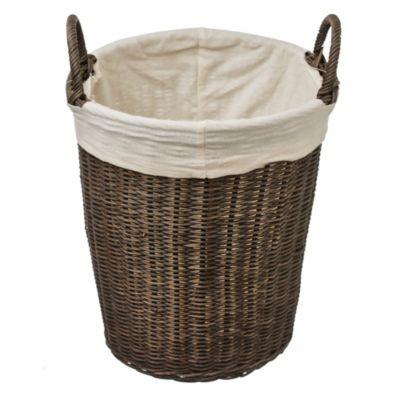Cesto de rattán laundry 30 x 32 x 37 cm