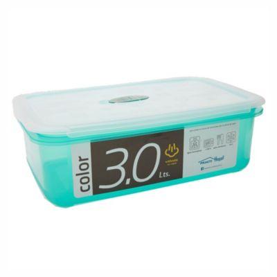 Caja para alimentos con válvula 3000 cc