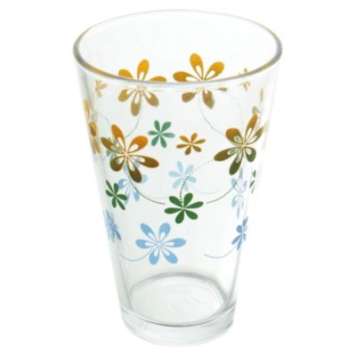Vaso cónico decorado 410 ml