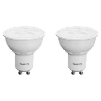 Lámpara LED GU10 4,5-50 w Pack de 2 u Cálidos