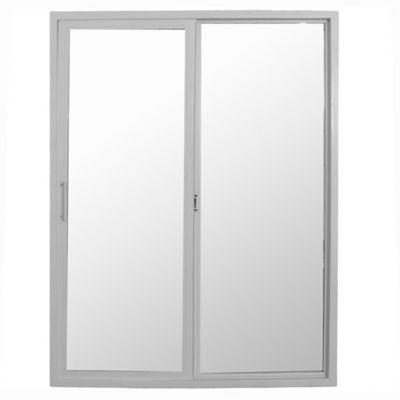 Ventana de PVC doble vidrio 150 x 200 cm corrediza