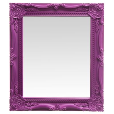 Espejo 25 x 30 blanco/negro
