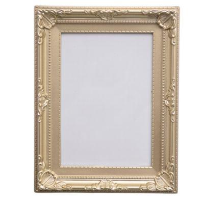 Portaretrato 13 x 18 cm plateado / dorado