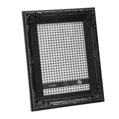 Portaretrato 13 x 18 cm blanco/negro