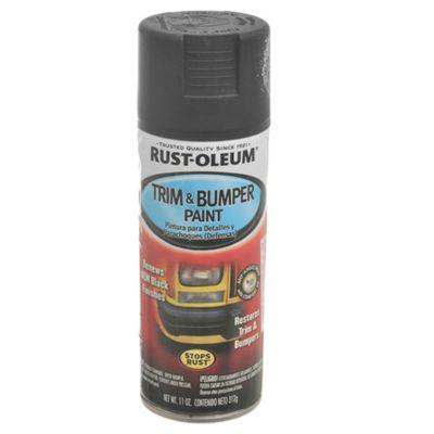 Pintura en aerosol para paragolpes y detalles n...