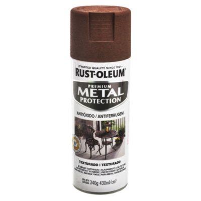 Protector metalizado texturado marrón oscuro 340g