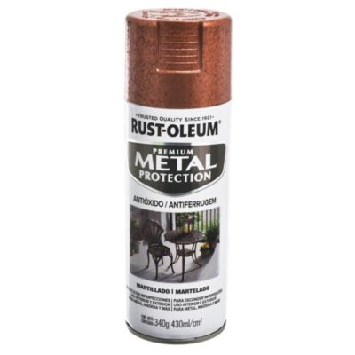 Protector metalizado martillado cobre 340g