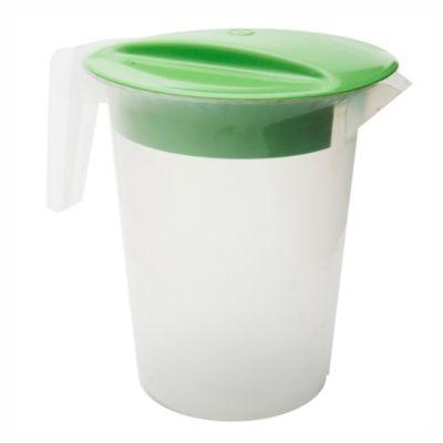 Jarra con tapa verde 18 cm