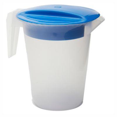 Jarra con tapa azul 18 cm