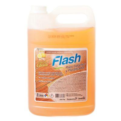 Limpiador líquido para pisos flotantes y plastificados