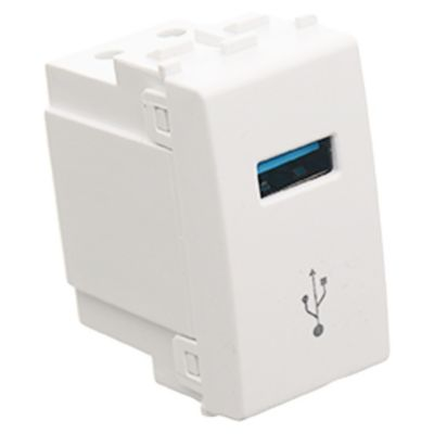 Módulo 1 USB blanco 5v 2.1 a