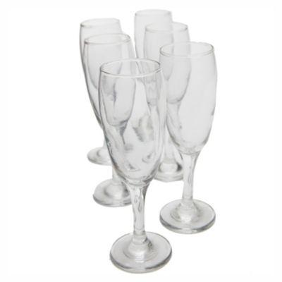 Pack x 6 copas para champagne