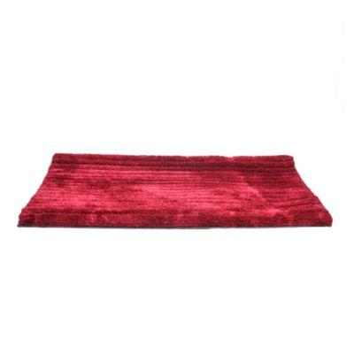 Alfombra 3D Forest 120 x 170 cm rojo