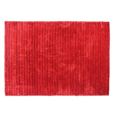 Alfombra 3d forest 160 x 230 cm rojo