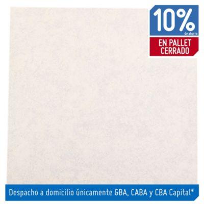Cerámica 51 x 51 Epecuen blanco 2.08 m²