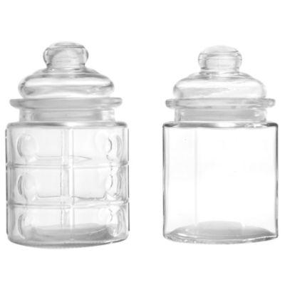 Frasco con tapa de vidrio 400 ml
