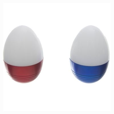 Pack 2 linternas LED tipo huevo