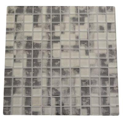 Malla mosaico tweet gris 30 x 30 cm