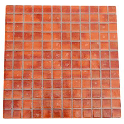 Malla mosaico tweet naranja 30 x 30 cm