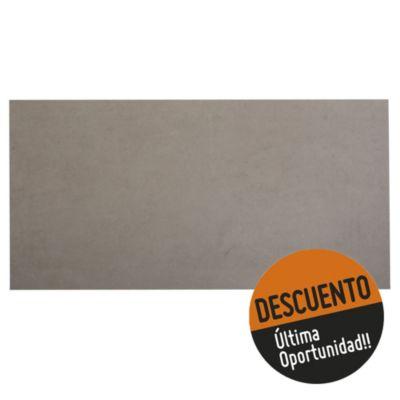 Porcelanato mate 50 x 100 cm Cinza 2.5 m²